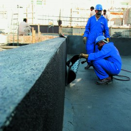 Basement's  Isolation water proofing