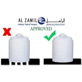 Alzamil Vertical Tank capacity 2,500 Ltr