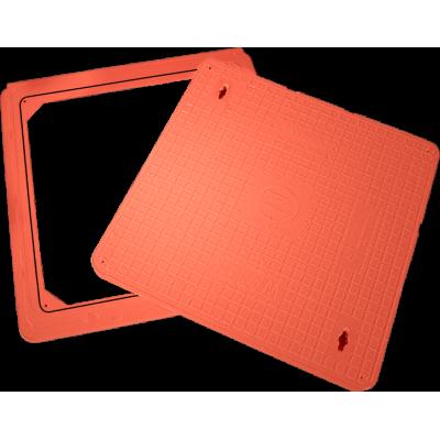 غطاء فتحات أرضية  60x60 (طن 12.5)